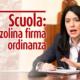 Scuola-Azzolina-firma