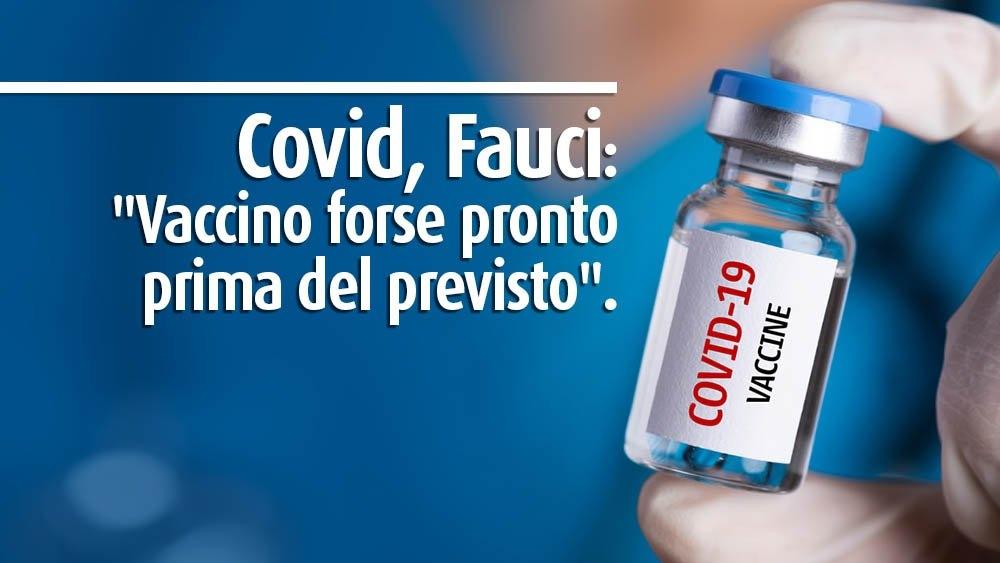 Covid Fauci vaccino