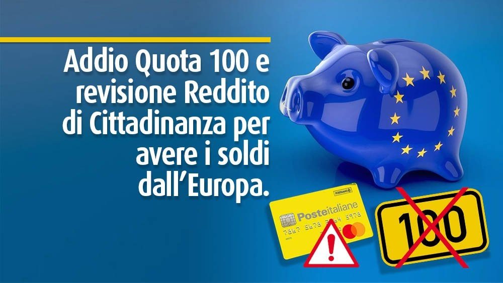 recovery fund e quota 100