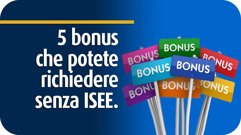 5-bonus-senza-isee