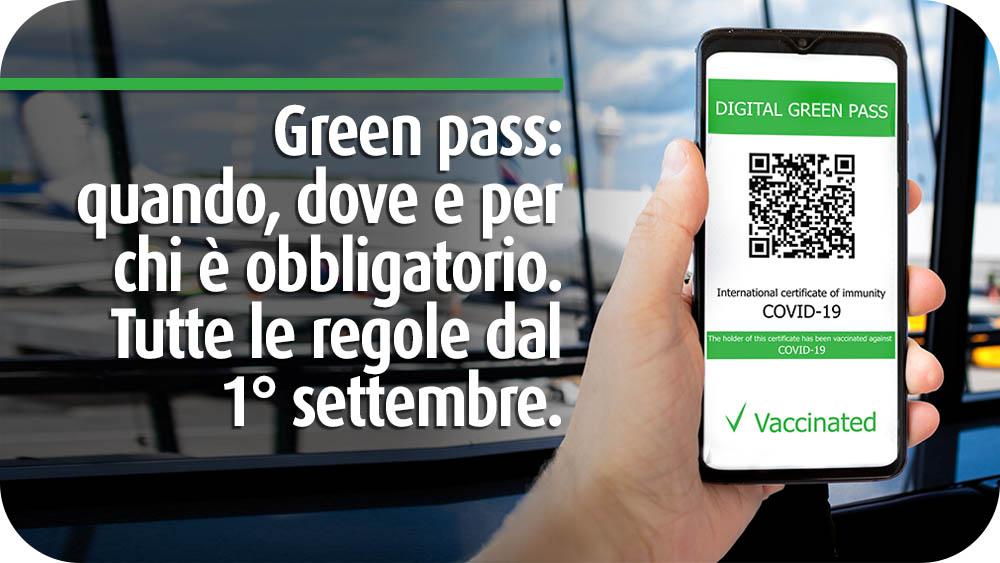 green pass regole sett 2021